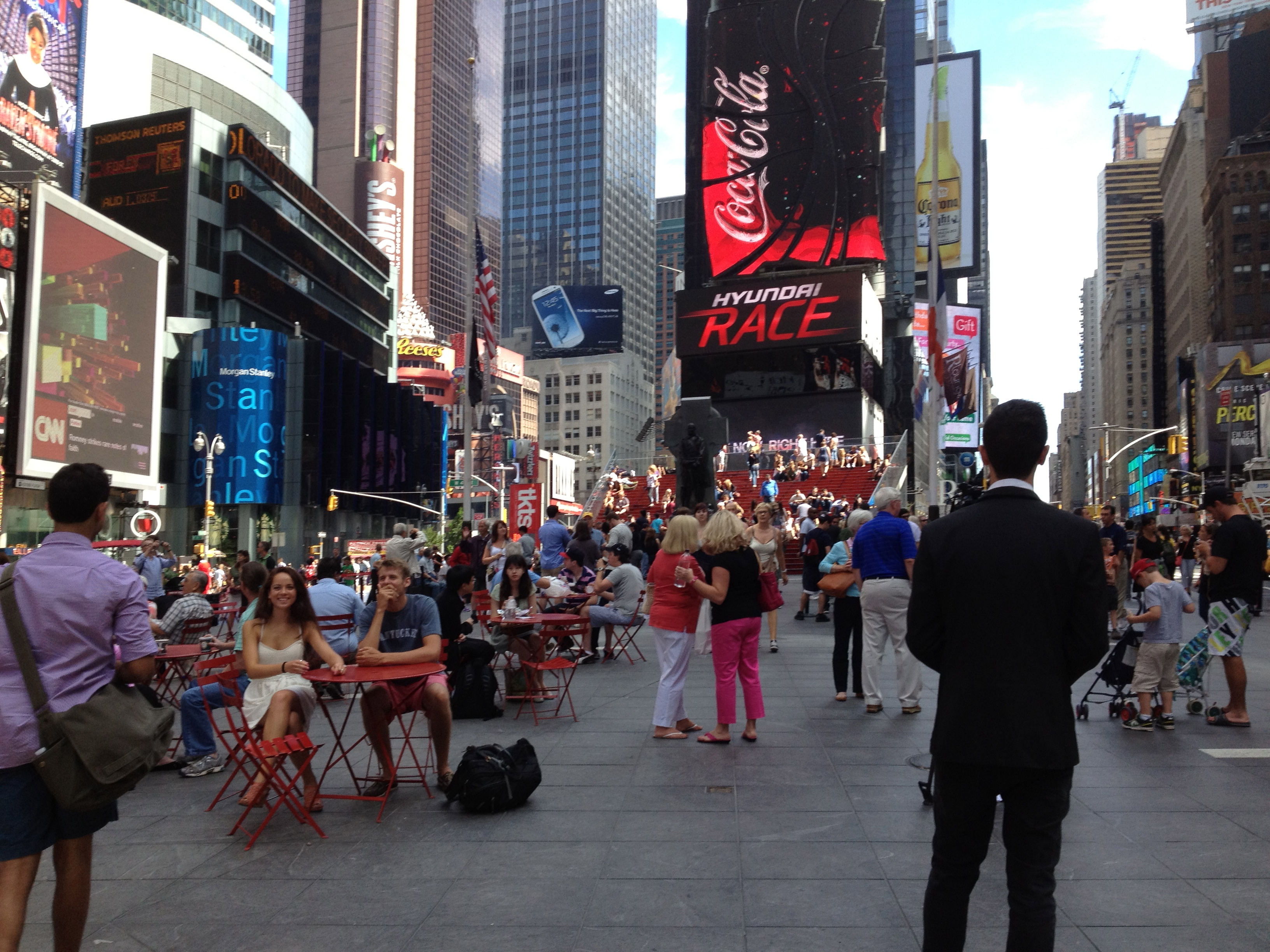New york city trip activities sights julianna yu 39 s blog for Activities in times square