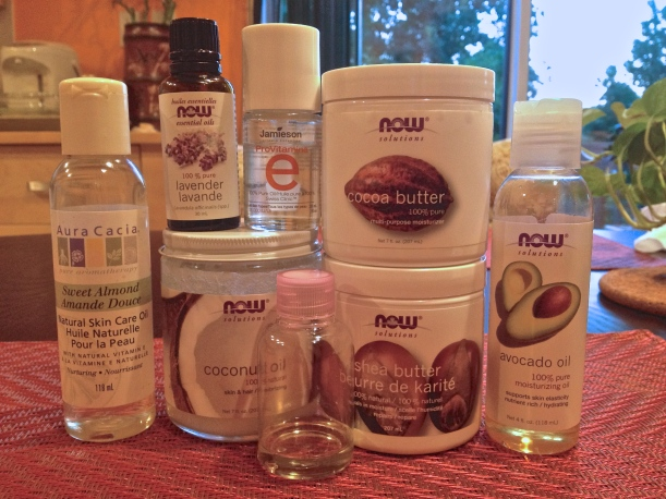 DIY Face Moisturizer Ingredients