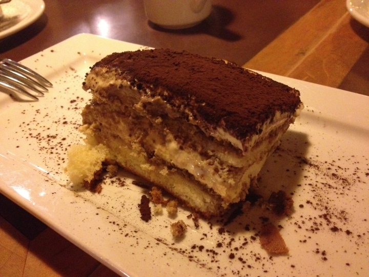 Food & Memories. Had this exact tiramisu 7 years ago with the same friend I had it with on this summer's night.