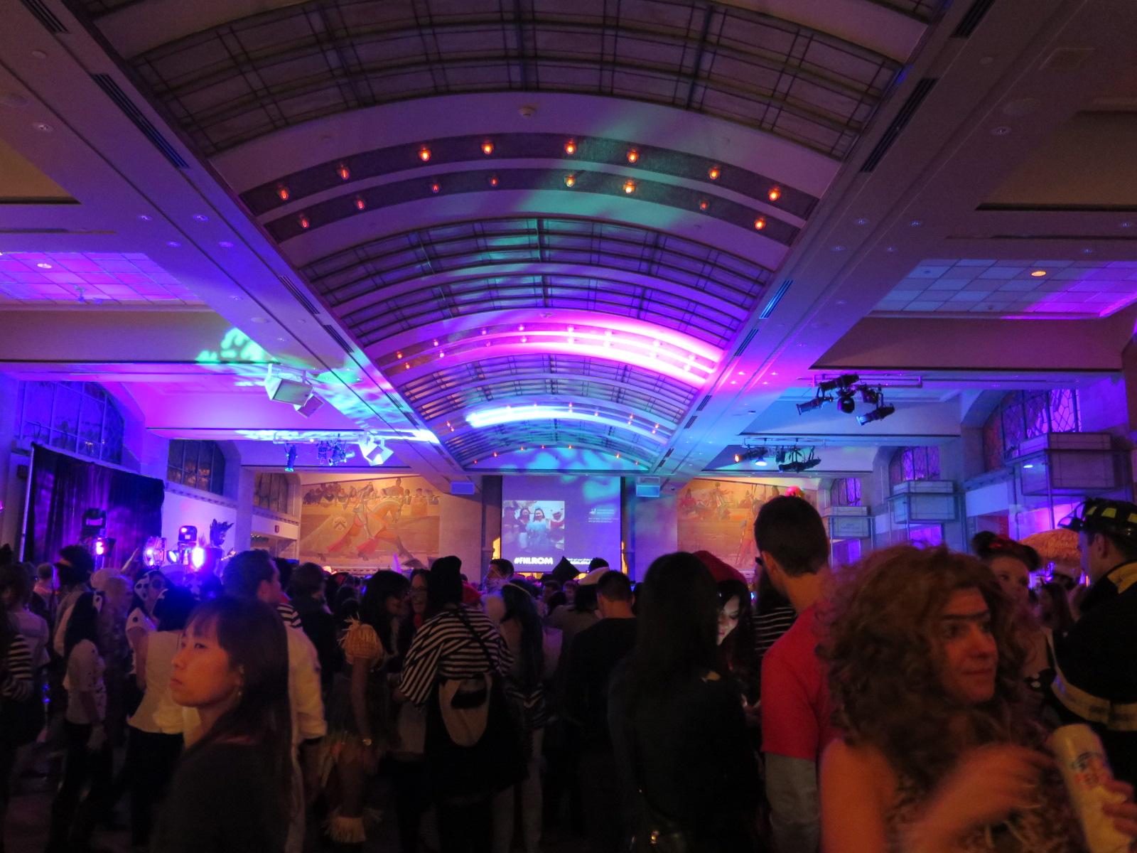 Halloween at the rom julianna yu 39 s blog for Halloween dance floor ideas